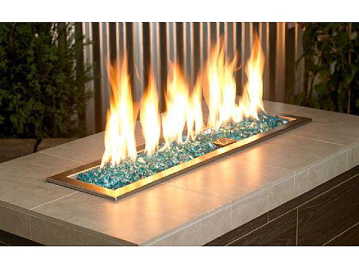 American Fireglass Half Inch Classic Collection | Azuria Fire Glass | 10 Pound Jar | AFF-AZBL12-J