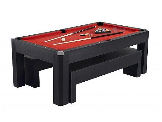 Carmelli™ Park Avenue 7 Foot Pool Table | Set Includes Benchs U0026 Bonus Top |  NG2530PR