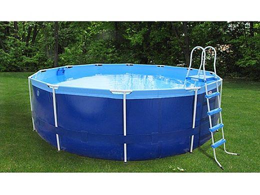 Splash A Round Pools Quik Swim 16 48 Tall Metal Frame Pool Qs1648