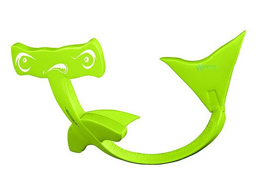 Texas Recreation Hammerhead Shark Flipper Dipper   Kool Lime Green   8615539