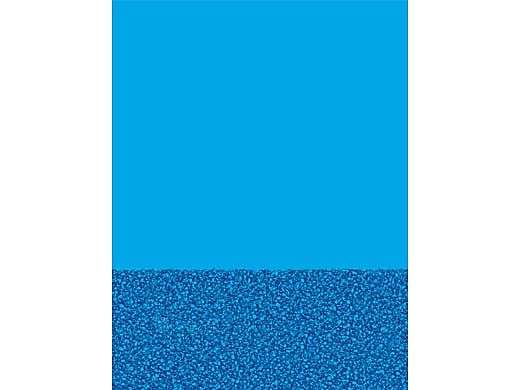 Blue Wall Pebble Bottom 12' x 18' Oval Overlap Style Above Ground Pool Liner | 211218
