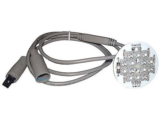"""SloanLED    LED Light Assembly   14 LED 3.5"""" Daisy Chain   5-30-0509"""