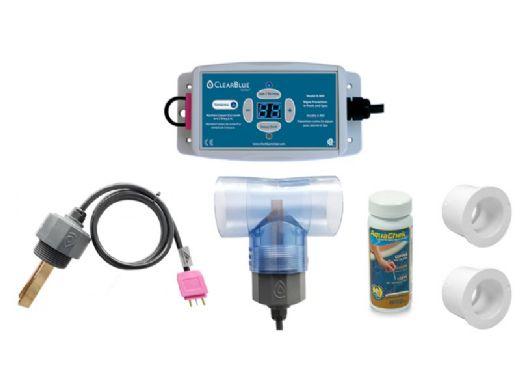 ClearBlue A-800 Ionizer for Pools and Spas | 120V/240V NEMA Plug | 25,000 Gallons | A-800NP