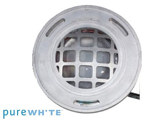 J&J Electronics PureWhite LED Underwater Fountain Luminaire | Guard Only No Base | 120V 50' Cord | LFF-S1L-120-WG-NB-50