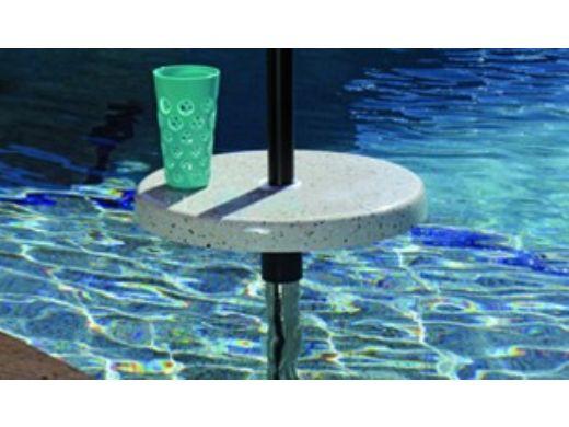 "SR Smith Destination Series 16"" Sun Shelf Table | Retrofit for Existing 1.50"" Anchors | Tan | PL-16 BEV TABLE-51"