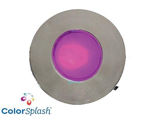 J&J Electronics ColorSplash LED Underwater Fountain Luminaire | No Base No Guard | 120V 10' Cord | LFF-S1C-120-NG-NB-10