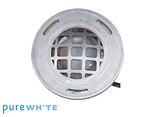 J&J Electronics PureWhite LED Underwater Fountain Luminaire   Guard Only No Base   120V 10' Cord   LFF-F1L-120-WG-NB-10