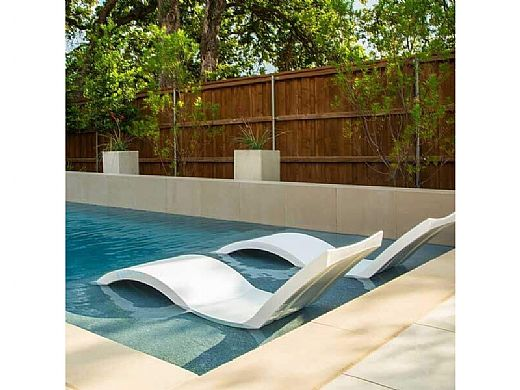 Ledge Lounger Signature Collection Chaise | Tan | LL-SG-C-TN