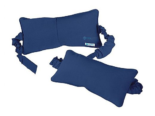Ledge Lounger Signature Collection Chaise Headrest Pillow | Standard Color Oyster | LL-SG-C-P-STD-4642