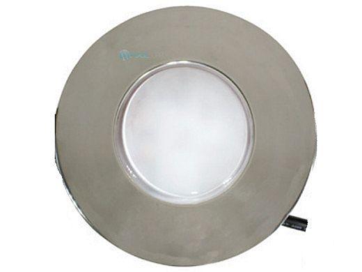 J&J Electronics PureWhite LED Underwater Fountain Luminaire   No Base No Guard   12V 50' Cord   LFF-F1L-12-NG-NB-50
