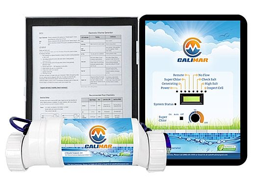 CaliMar® Salt Chlorinator for Inground Pools | Up to 15,000 Gallons | CMARSHA15-3Y