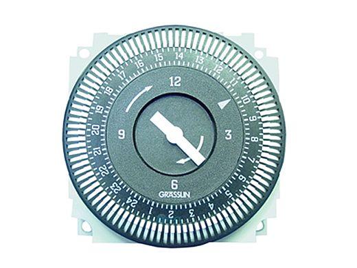 Grasslin 220V 15A 50HZ 24 hr 5 Lug Electromechanical Time Clock   FM1 STUZ-240V50HZ