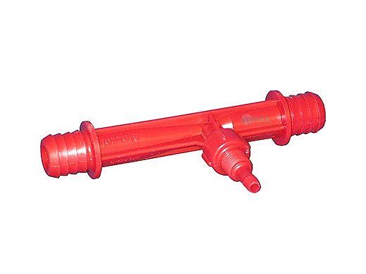 "DEL Mazzei Ozone Injector .75"" Barb X .25"" Cap Mazzei | PVDF-0684K"