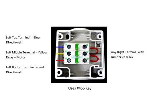 [FPER_4992]  Aquamatic Key Switch & Box with Legend Plate Includes 2 Keys | 517H | Key Switch Wiring Diagram For 653 |  | Pool Supply Unlimited