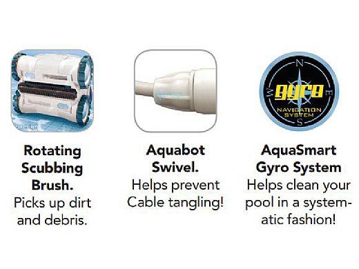 Aquabot Breeze 4wd Robotic Pool Cleaner Abreez4wdr1