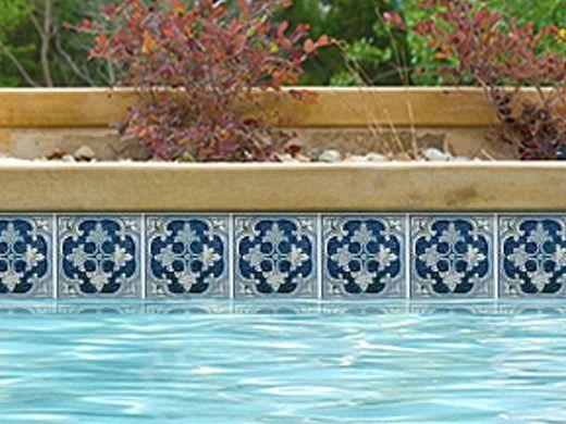 National Pool Tile Hana 6x6 Series | Capri | HANA-CAPRI