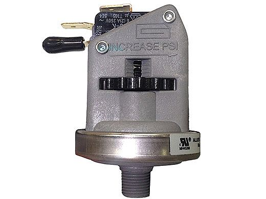Allied Pressure Switch Universal - 6A - 1-8in NPT - SPDT - 1-8 - 2-2PSI   800140-7
