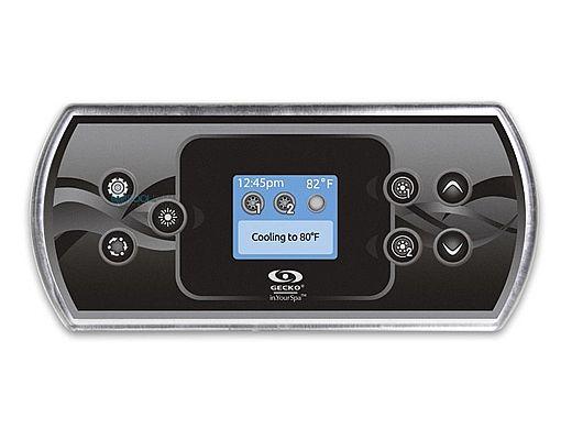 Gecko IN.K500-CLEAR & OVERLAY GE1 Keypad | 0607-008033