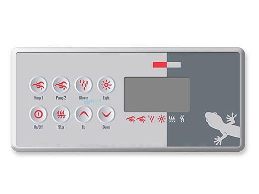 Gecko TSC-8-GE1 AND OVERLAY Keypad   BDLTSC8GE1