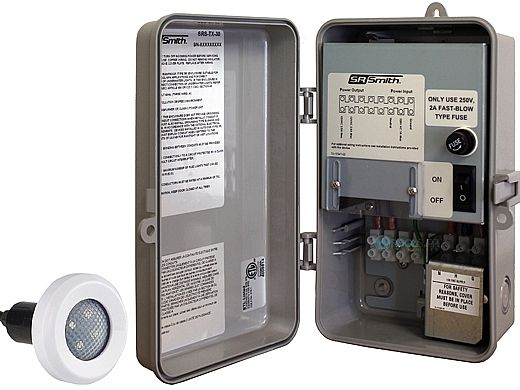 SR Smith TX-30 Power Center with Manual On-Off Switch | Includes 1 Treo Light | 1TR-SRS-TX-30