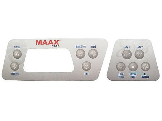 Balboa Water Group™ C600 Series Faceplate Deluxe 10-Button Coleman Spas   103-309