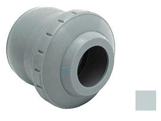 "AquaStar Three Piece Directional Eyeball Fitting   2"" Knock-in   with 1"" Orifice   Light Grey   6103"