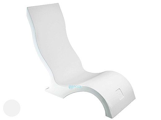 Ledge Lounger Signature Collection Chair | White | LL-SG-CR-W