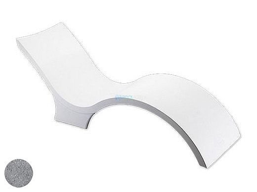 Ledge Lounger Signature Collection Chaise Deep | Granite Gray | LL-SG-CD-GG