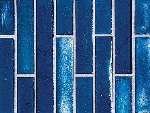 National Pool Tile Aquascapes Vertical Glass | Sapphire | OCN-SAPPHIRE VS6