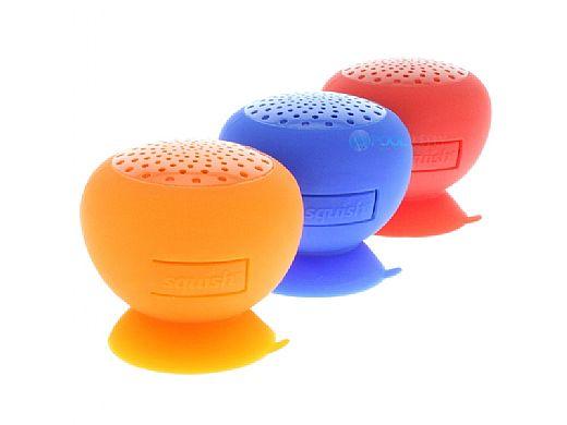 AudioBomb Squish Water-Resistant Bluetooth Speaker | Orange | 79768