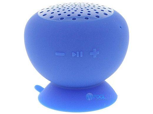 AudioBomb Squish Water-Resistant Bluetooth Speaker | Blue | 79767