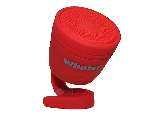 AudioBomb Whaley Waterproof Bluetooth Speaker   Red   12169