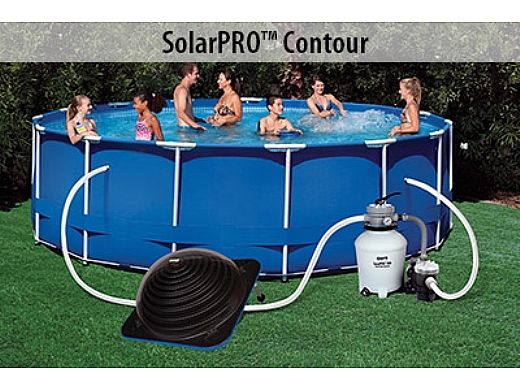 GAME SolarPRO™ Contour Above Ground Pool Solar Heater | 4714