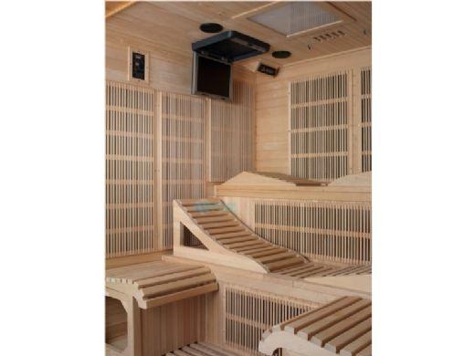 Golden Designs Monaco 6-Person Near Zero EMF FAR Infrared Sauna | GDI-6996-01