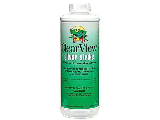 ClearView Silver Strike Algaecide | 32 oz | CVLSSQT12