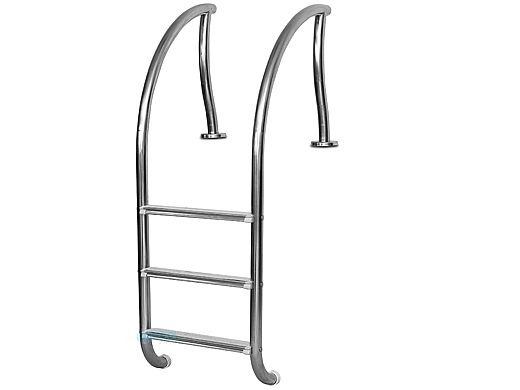 """Inter-Fab Designer Series 3 Step Ladder With Sure-Step Treads 