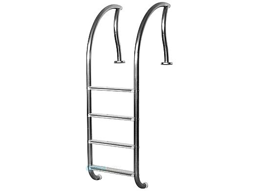 """Inter-Fab Designer Series 4 Step Ladder With Sure-Step Treads 