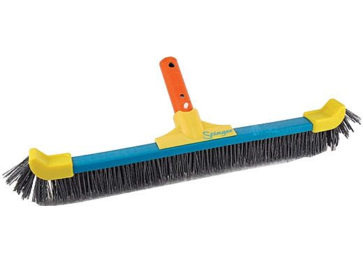 "Pool Pals 18"" Deluxe Stinger Grit Brush For Pebble Surfaces 