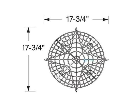 AquaStar Swim Designs Compass Pre-Filled Frame | F2001-01