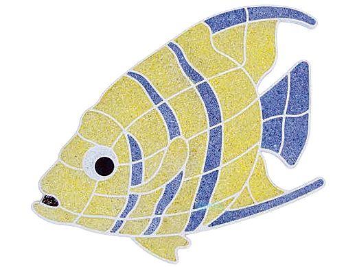 AquaStar Swim Designs Angel Fish Pre-Filled Frame | F2002-01