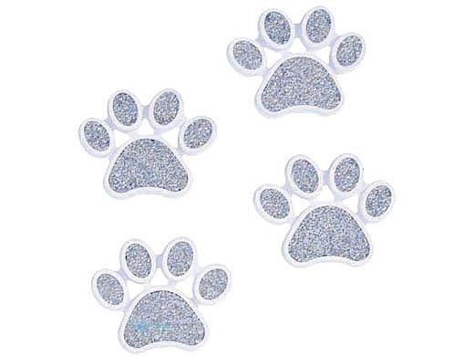 AquaStar Swim Designs Dog Paw Pre-Filled Frame | Set of 4 | F2004-01