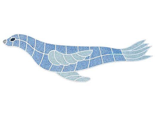 AquaStar Swim Designs Sea Lion Pre-Filled Frame | F2009-01