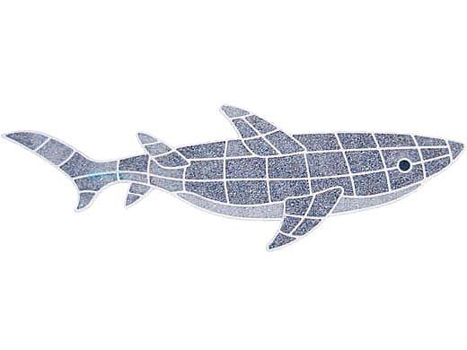 AquaStar Swim Designs Shark Pre-Filled Frame | F2010-01