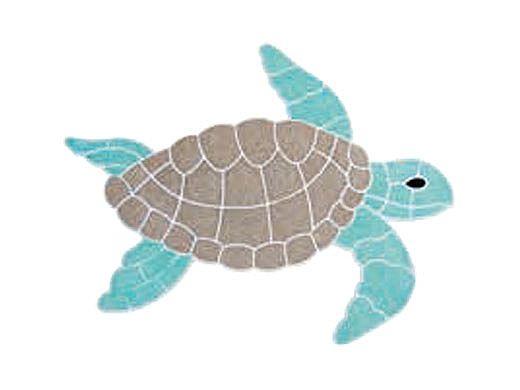 AquaStar Swim Designs Small Turtle Pre-Filled Frame   F2022-01