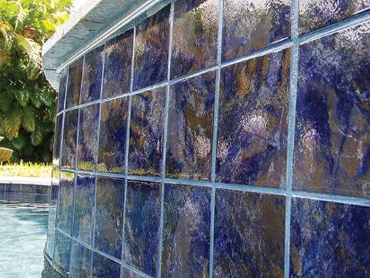 National Pool Tile Coral 6x6 Series | Rustic Blue | CRL-RUSTIC