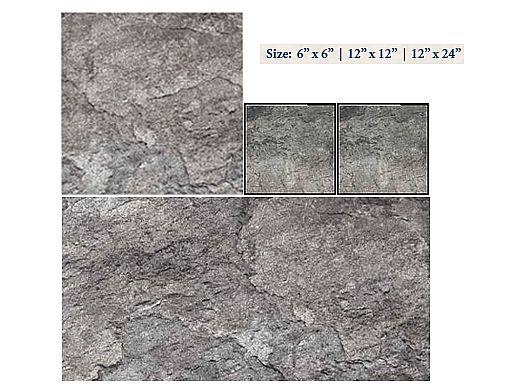 National Pool Tile Firestone 12x12 Series   Gray   FRST-GRAY1212
