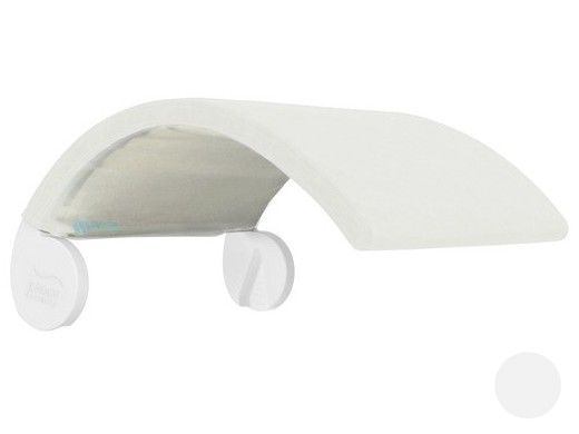 Ledge Lounger Signature Collection Chair Shade | White Frame - White Fabric Stock Color | LL-SG-CR-SH-W-STD-4634