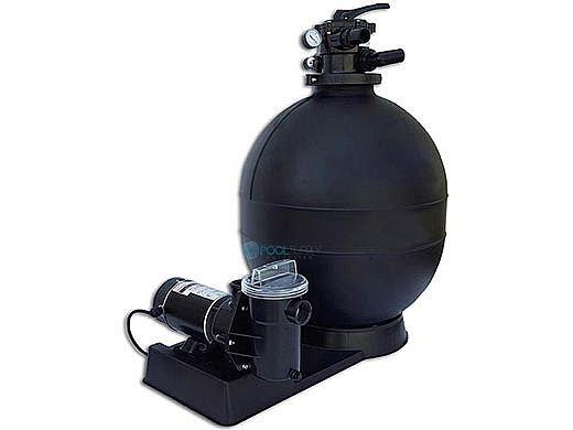 "CaliMar® Above Ground Pool Sand Filter System | 23"" Filter 1.5 HP Pump | 5-1787-002"