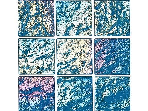 National Pool Tile Lightwaves Glass Tile | Aquamarine 2x2 | LWV-AQUAMARINE2X2