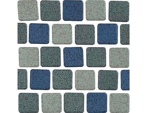 National Pool Tile Cornerstone 1x1 Series | Azure | CNRST-AZURE